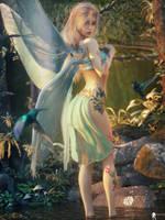 Fairie 9 by LaMuserie