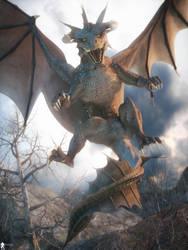 Dragon World 4 by LaMuserie