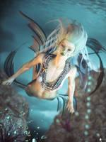 Mermaid 5 by LaMuserie