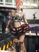 Modern Dolls 18 by LaMuserie