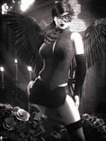 Monochrome: Black Angel 6 by LaMuserie