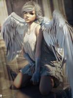 Angel Spirit 17 by LaMuserie