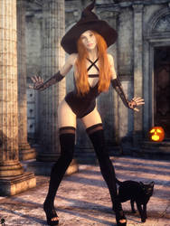 Witch of the Day 6 by LaMuserie