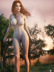 Redhead Passion 10 by LaMuserie