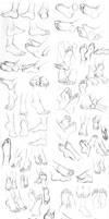 Figure Dump 02 by GoldenTar