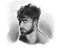 Portrait Study 1 by GoldenTar