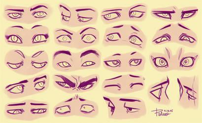 Eyes 3 by GoldenTar