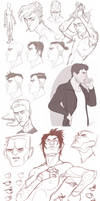 Sketch Dump 15 by GoldenTar