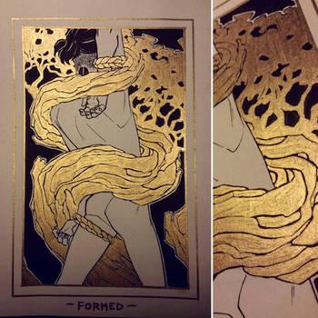 Ink/GrossTober Raffle: 2 Formed by GoldenTar