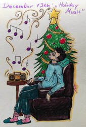 December 13th: Holiday Music by FairyOfSomething
