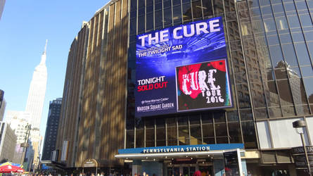 The Cure @ Madison Square Garden in New York by body-electric