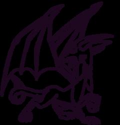 Cynder Concept Line Art by RadSpyro