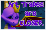 Spyro: Art Trades Closed button by RadSpyro
