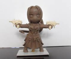 Natsuko Chibi - clay version by DharkerStudio