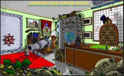 Character Room: Scrooge McDuck (Nov, 2018) by RobmanCartoons