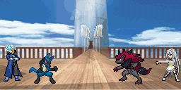 Arim Vs Nora - Pokemon Battle by arimibn