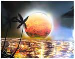 The Last Sunset by rahulmukerji