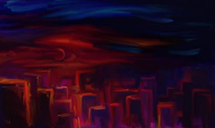 Ciudad De Noche by FrancesBeanOHara