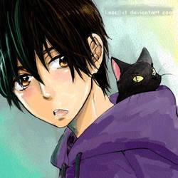 Little Black Cat by knoc0ut
