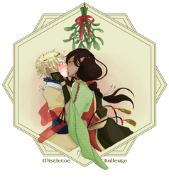 AA|  Mistletoe Challenge Dokis (Tor'ang and Tian) by knoc0ut