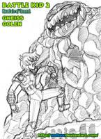 BATTLE KID 2 - FIRST BOSS FIGH by mdkex