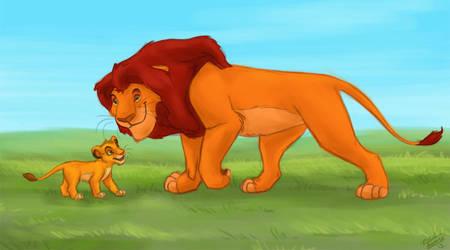 Happy Father's Day by Azerane