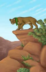 Cougar Canyon by Azerane