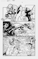 Spidey sneak peek 2 by MarkIrwin