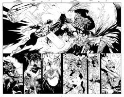 Green Lantern 50 DP spread by MarkIrwin