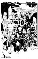 Storm Gambit Bachalo page by MarkIrwin