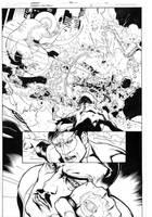 Green Lantern 5, page 10 by MarkIrwin
