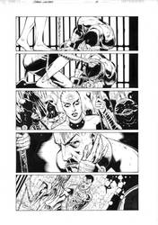 Green Lantern 8, page 1 by MarkIrwin