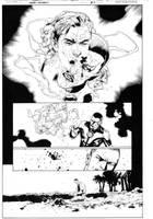 Green Lantern 13, page 4 by MarkIrwin