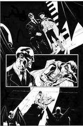 Batman and Robin 23 by MarkIrwin