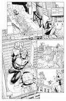 Booster Gold: Futures End by MarkIrwin
