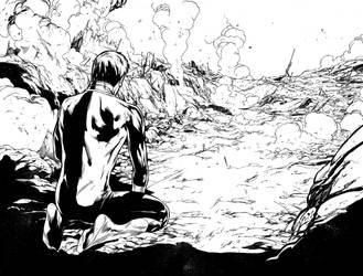 Green Lantern 50, DP spread by MarkIrwin