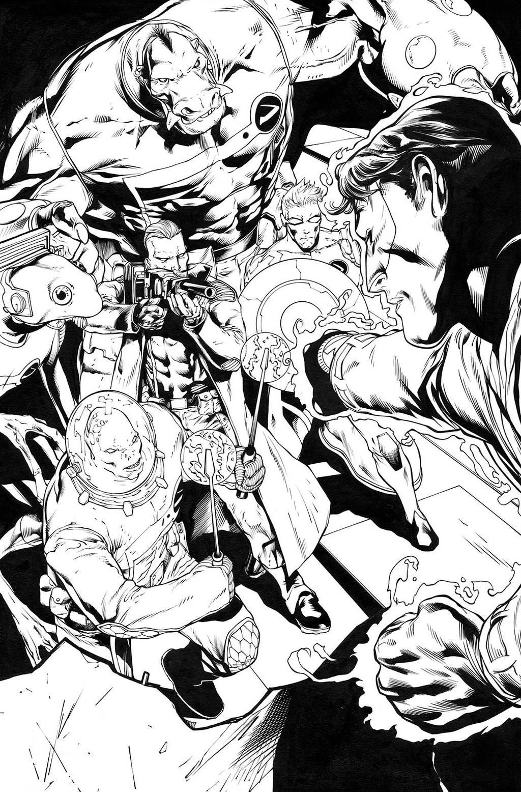 Green Lantern 52, page 1 by MarkIrwin