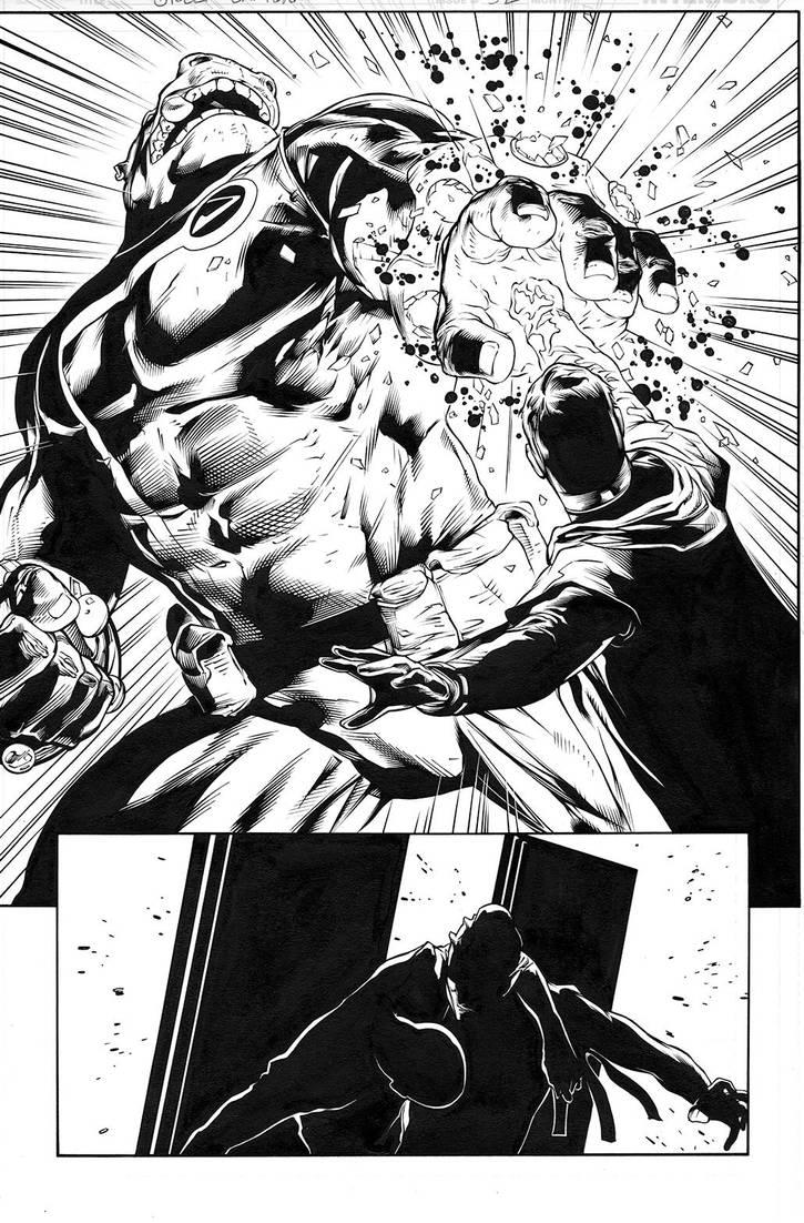 Green Lantern 52, page 10 by MarkIrwin