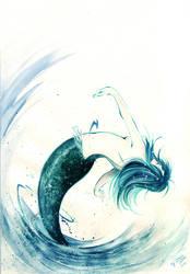 deep blue sea by CKJohnson