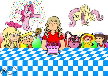 Andrea Libman Birthday by AficionadosChris