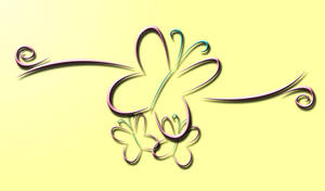 3D Fluttershy Wallpaper by InternationalTCK