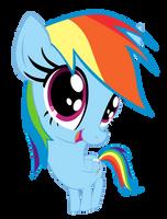 DAAWWW Rainbow Dash by InternationalTCK
