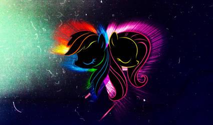 Pegasus Ponies Wallpaper by InternationalTCK