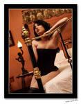 Burlesque superstar by slyfoxxy