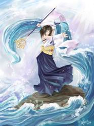 Yuna - Final Fantasy X by neomonki