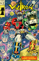 A Kirby style Voltron by Schoonz