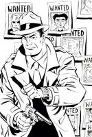 Dick Tracy by Schoonz