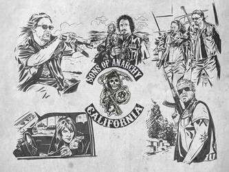 Sons of Anarchy by Schoonz