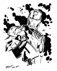 Iron Man by Schoonz