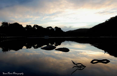 wilsons prom sunset by rollingphotographer